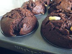 muffin mit banane und schoko