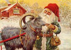 Jenny Nystrom, Tomten  yule goat.