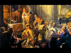 Some music from the Mass of the Angels (Christmas Mass). The images are assorted Mass pictures and paintings.