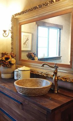 Shop a large variety of unique marble, travertine, limestone and onyx bathroom vessel sinks. Largest suppliers of unique natural stone vessel sinks in Houston, Texas Into The West, Stone Sink, Vessel Sink Bathroom, Rustic Bathrooms, Bathroom Renovations, Bathroom Ideas, Travertine, Beautiful Bathrooms, Decoration