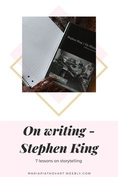 What I learned from book On writing #booklover #onwriting #stephenking #writingadvice Writing Advice, Writing Skills, Theatre Reviews, Memoirs, Self Improvement, As You Like, Book Lovers, Blogging, Encouragement