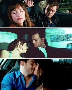 Car Scenes from all 3 movies