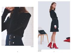 #lookbook #fw16 #fashion #collection #copcopine http://www.cop-copine.com/