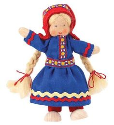 Käthe Kruse Norway Dollhouse Doll