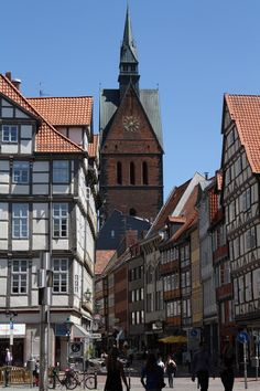 Old part of Hannover