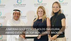 Inaugural award event for top real estate brokers. #Dubai #RealEstate #Propertytime #PropertyPortal #RealEstateAgents #RealEstateBrokers #DubaiBrokers #RealEstateAwards