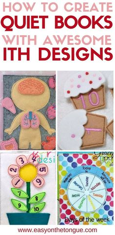 Trendy sewing toys for baby diy quiet books 28 Ideas Diy Quiet Books, Baby Quiet Book, Felt Quiet Books, Quiet Book For Toddlers, Diy Toddler Books, Diy Busy Books, Toddler Toys, Sewing Toys, Sewing Crafts