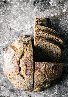This simple overnight spelt rye bread is made with just 5 ingredients, including water and salt. It's a basic bread with an excellent flavour & no starter. Spelt Recipes, Artisan Bread Recipes, Healthy Bread Recipes, Yeast Bread Recipes, Flour Recipes, Alkaline Bread Recipe, Fresh Yeast Bread Recipe, Healthy Breads, Fresh Bread