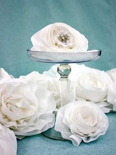 Beautiful easy flower to make for headbands or decoration.