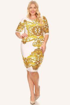 b0a773ba2c Plus Size For Love Layered Peplum Dress – Plussizefix Bachelorette Outfits