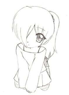 Anime Girl Chibi Displaying 19 Images For Easy To Draw Anime