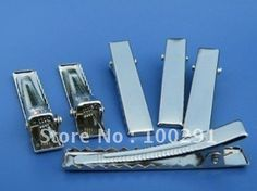 35mm Quadrate Alligator Hair Pins Clips Jewelry Findings Accessories Components $49.47