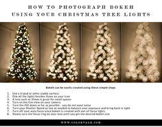 How To Create Bokeh Using Your Christmas Lights