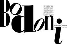 Bodoni - my favorite font