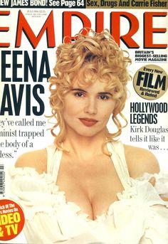 Geena Davis, Kirk Douglas, Movie Magazine, Music Magazines, Carrie Fisher, Large Photos, Music Tv, Larger, Empire