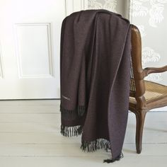 Silk and Cashmere Long Throw