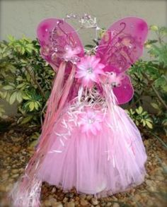 Wand with light pink tutu party favors Tinkerbell Wings, Tinkerbell Party, Fairy Birthday Party, Birthday Parties, 4th Birthday, Birthday Ideas, Tutu Costumes, Costume Ideas, Halloween Costumes
