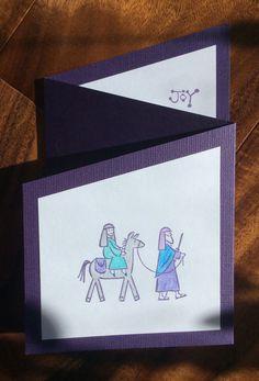 2017 triptych card using SU City of David
