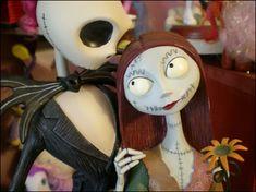 Jack Skellington and Sally