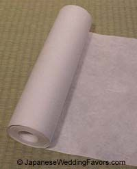 Japanese Rice Paper for crafts,  Japanese Style, Inc.    $21.95 per 60ft roll