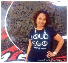 Get your Loud Ego Apparel logo tee now while quantities last! www.loudegoapparel.com