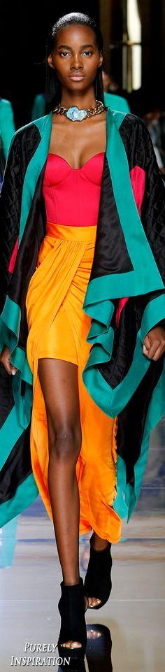 Balmain SS2017 Women's Fashion RTW presented during Menswear Runway   Purely Inspiration