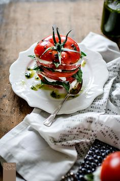 Caprese Stack with B