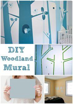 DIY Woodland Nursery