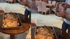 Mish Viçi i Mbeshtjellun me krip dhe i pjekun ne furre Beef, Food, Meal, Essen, Hoods, Ox, Meals, Eten, Steak