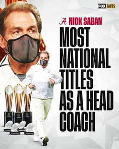 Crimson Tide Football, Alabama Football, Alabama Crimson Tide, Fox Facts, Nick Saban, College Football Playoff, Football Wallpaper, University Of Alabama, Roll Tide