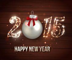Wallz Hut: Happy New Year Wishes Photos Christmas Time, Christmas Bulbs, Christmas Stuff, Happy 2015, New Year Pictures, New Year Wallpaper, Happy New Year Wishes, New Year Celebration, Food Festival