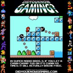 Did you know gaming? Well damn!