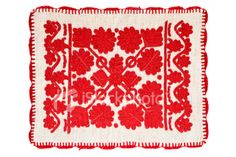 Hungarian (Kalotaszeg) embroidery.