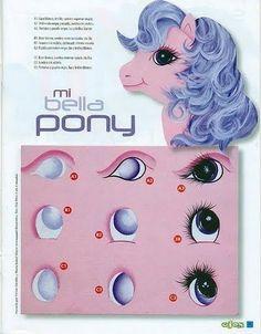 olhos pintados ... http://lipinturas.blogspot.com.br/2011/06/modelos-de-olhos-para-pintura.html