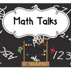 Math talks are a quick 5 minute tool to start your math time.  There are 11 different math talks in this set. This can be an insightful activity to...