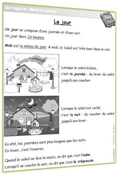 French Worksheets, Cycle 2, French Classroom, French Immersion, Teaching French, Science For Kids, Learn French, Student, Activities