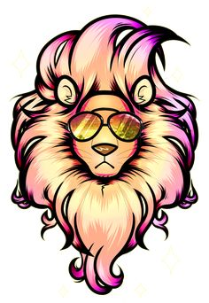 Summer Lion by ElectronicVirus