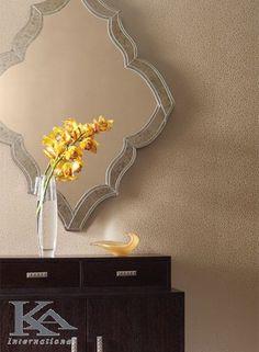 Squiggle Sidewall Wallpaper in Metallic Beige design by York Wallcoverings Wallpaper Online, New Wallpaper, Pattern Wallpaper, Modern Wallpaper Designs, Designer Wallpaper, Candice Olson, World Of Interiors, Best Interior, Entry Doors