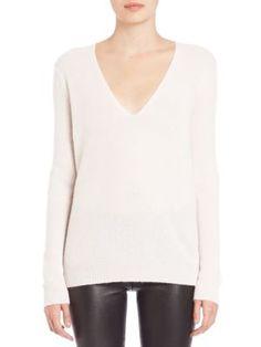 Theory - Adrianna Cashmere V-Neck Sweater