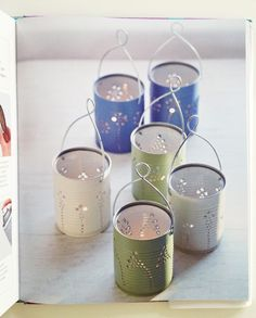 Download & print this fun Tin Can Lantern project from CRAFT JSIM-DK-CRAFT-4  https://apps.facebook.com/dkusapps/exclusives/View/6325