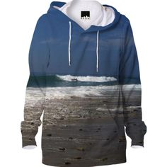 Malibu Waves Hoodie from Print All Over Me