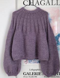 Knitting Yarn, Knitting Patterns, Parisian Style, Sweater Fashion, Knitting Projects, Knitwear, Knit Crochet, Couture, Sweaters