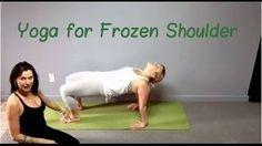 frozen shoulder - yoga moves http://www.frozenshoulder.com