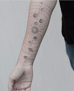Space tattoos!