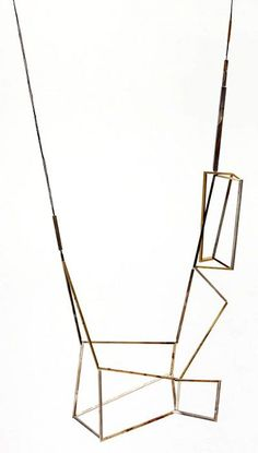 from BKLYN contessa : handcrafted by emma price: silver + brass + copper + gold: necklace 6