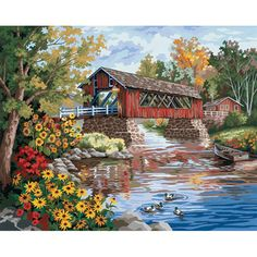 Dimensions 16×20 Paint By Number Kit – Country Thoroughfare « Blast Groceries