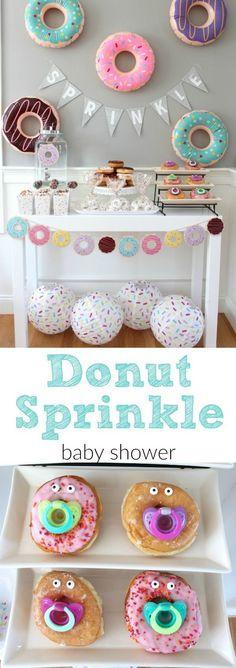 Donut Sprinkle Baby Shower Ideas