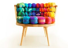 Recycled Silk Chair