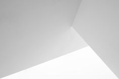 White Walls Abstract 3 - White walls and ceiling