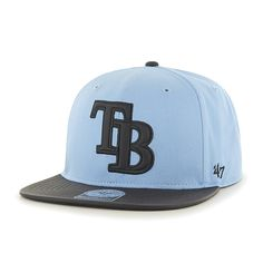 online retailer 92b83 61912 Tampa Bay Rays Delancey Captain Columbia 47 Brand YOUTH Hat